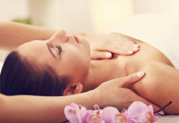 77325369 - beautiful woman getting massage in spa